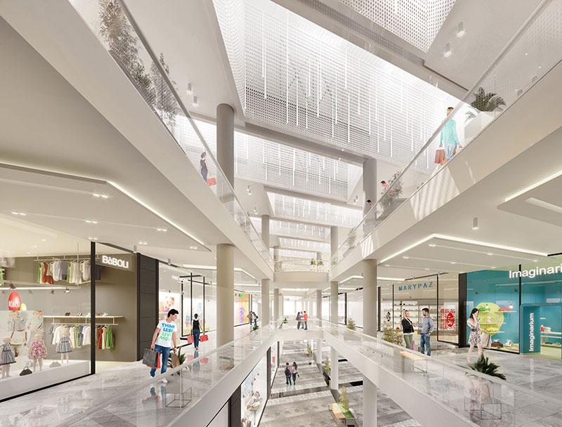 Salera invierte 13 millones de euros en la remodelación de 30.000 m2 del centro comercial