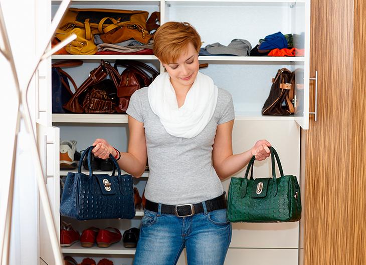 Trucos para organizar tus bolsos