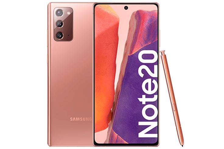 teléfonos móviles Samsung Galaxy Note 20
